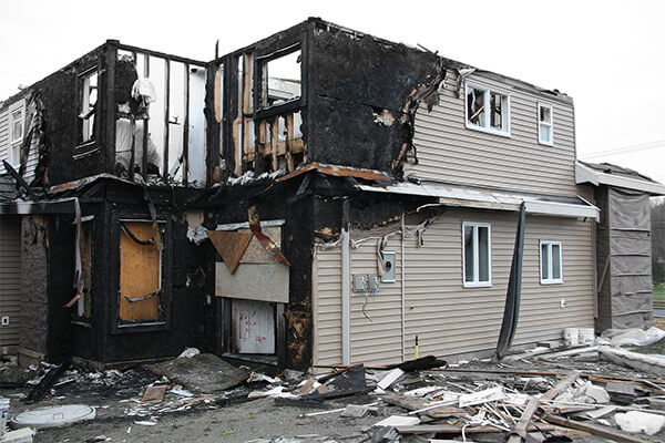 Fire Damage Restoration in Bridge Creek, WI