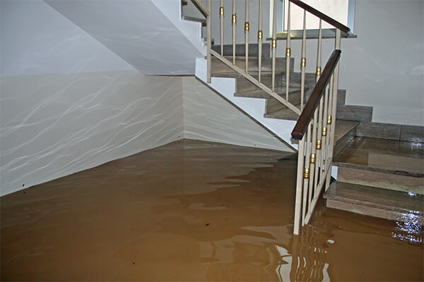 Flood Damage Restoration in Hale Corner, WI