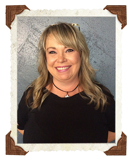 Barb - manager master colorist/stylist & educator