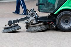 Don't wait!  Parking lot sweeping services in Baldwin, WI