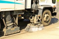 Don't wait!  Street sweeping in Baldwin, WI