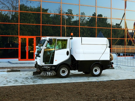 Don't wait!  Parking lot sweeping services in Rice Lake, WI