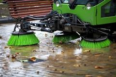 Don't wait!  Parking lot sweeping in Chippewa Falls, WI