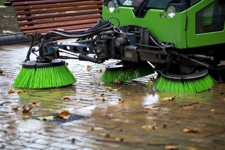Don't wait!  Street sweeping in Durand, WI