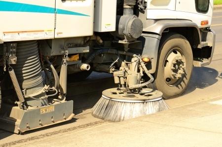 Don't wait!  Street sweeping in Northwestern Wisconsin