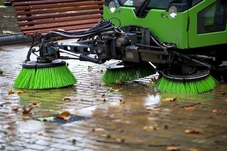 Don't wait!  Parking lot sweeping in Baldwin, WI