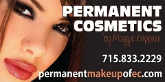Professional permanent eyebrows in Eau Claire, WI