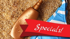 Febuary Tanning Specials