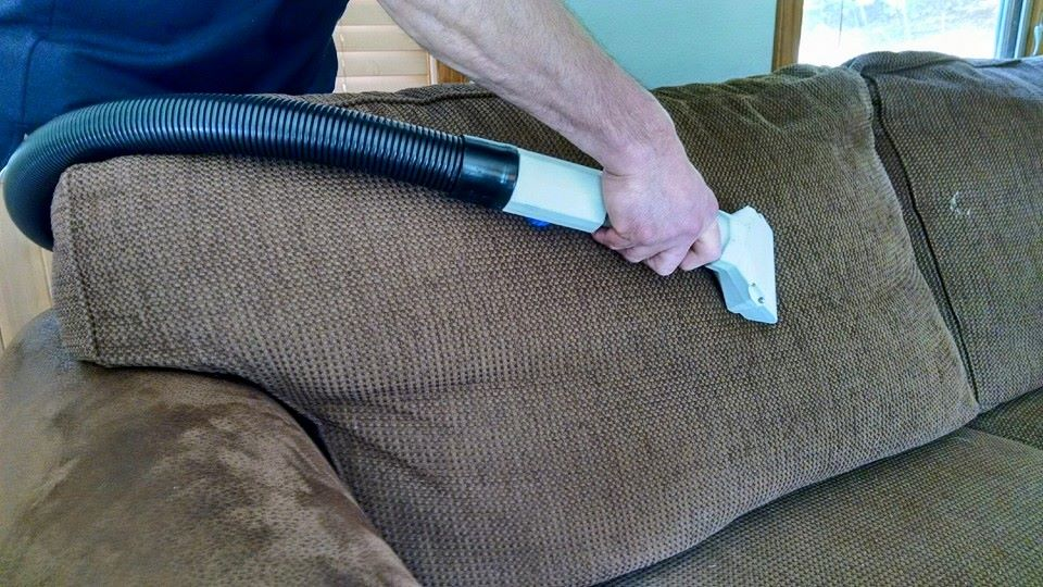 Professional Upholstery cleaning in Rice Lake, WI